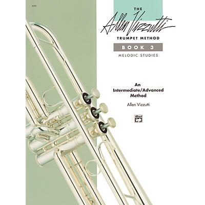 Alfred The Allen Vizzutti Trumpet Method - Book 3 Melodic Studies