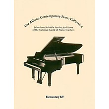 Hal Leonard The Allison Contemporary Piano Collection Educational Piano Library by National Guild of Piano Teachers
