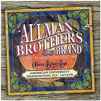 The Allman Brothers Band - American University Washington D.C.12-13-70