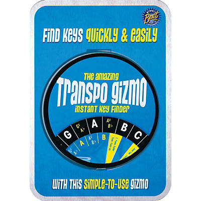 Music Sales The Amazing Transposition Gizmo Instant Key Finder Music Sales America General Merchandise by Various
