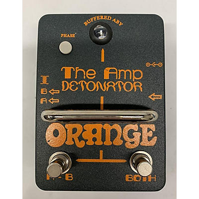 Orange Amplifiers The Amp Detonator Pedal