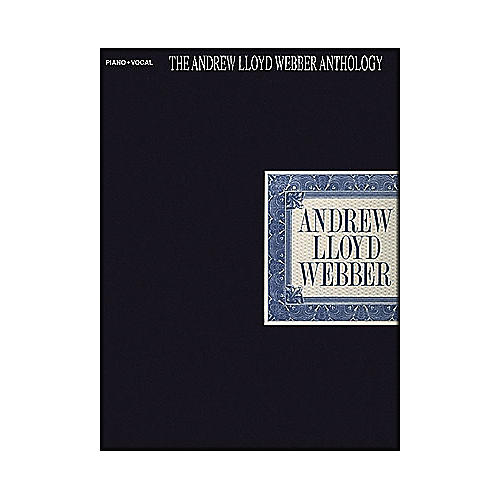 Hal Leonard The Andrew Lloyd Webber Anthology arranged for piano, vocal, and guitar (P/V/G)