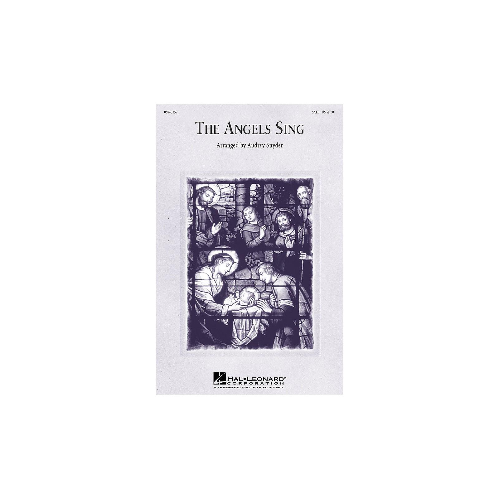 Hal Leonard The Angels Sing (Medley) (SATB) SATB arranged by Audrey Snyder