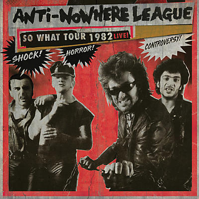 The Anti-Nowhere League - So What Tour 1982 Live!
