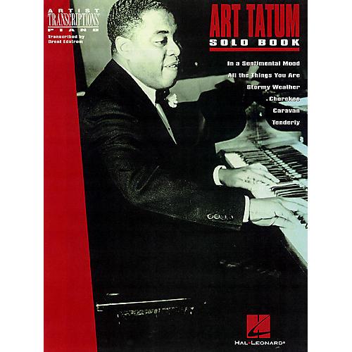 Hal Leonard The Art Tatum Solo Book Artist Transcriptions Series Performed by Art Tatum