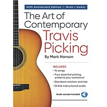 Hal Leonard The Art of Contemporary Travis Picking - Learn the Alternating-Bass Fingerpicking Style Book/Audio Online