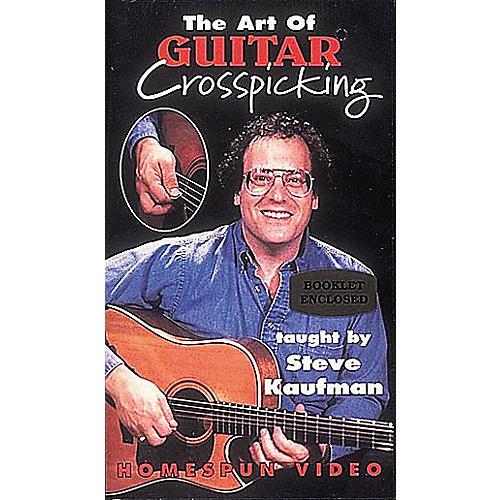 Homespun The Art of Guitar Crosspicking (VHS)