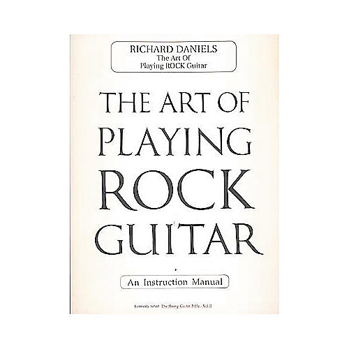Cherry Lane The Art of Playing Rock Guitar Book