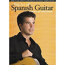 Music Sales The Art of Spanish Guitar Music Sales America Series DVD Written by Celino Romero