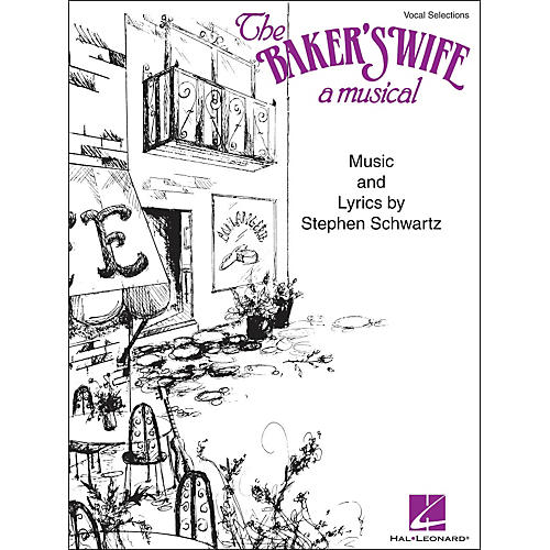 Hal Leonard The Baker's Wife - A Musical Vocal Selections arranged for piano, vocal, and guitar (P/V/G)
