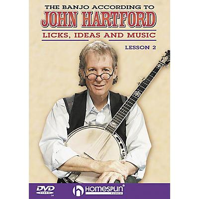 Homespun The Banjo According to John Hartford 2 (DVD)