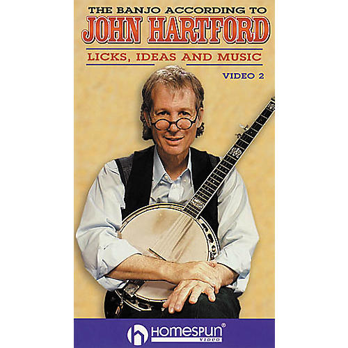 Homespun The Banjo According to John Hartford 2 (VHS)