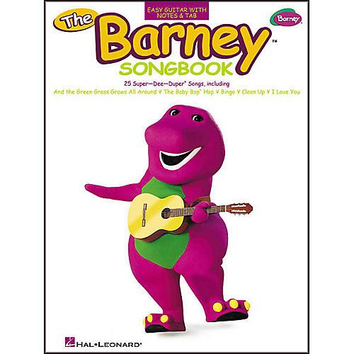 Hal Leonard The Barney Easy Guitar (Songbook)