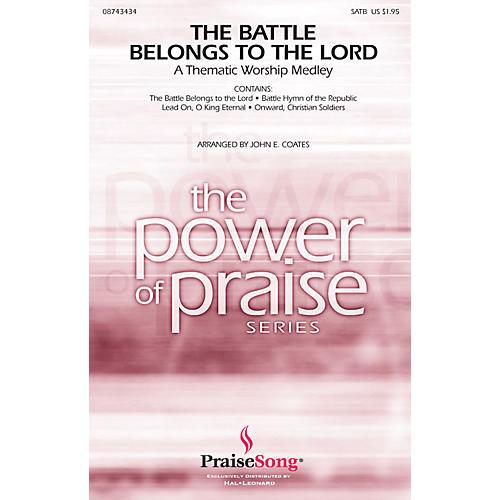 Hal Leonard The Battle Belongs to the Lord (Worship Medley) IPAKO Arranged by John E. Coates