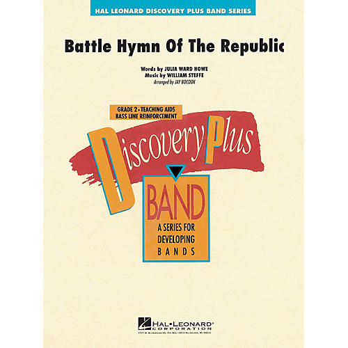 Hal Leonard The Battle Hymn of the Republic - Discovery Plus Concert Band Series Level 2 arranged by Jay Bocook