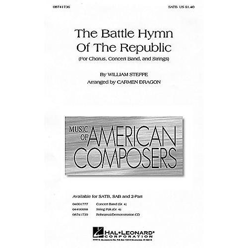 Hal Leonard The Battle Hymn of the Republic SATB arranged by Carmen Dragon