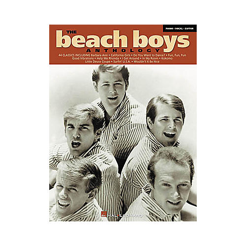 Hal Leonard The Beach Boys Anthology Songbook