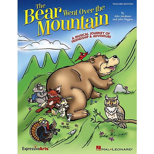 Hal Leonard The Bear Went Over the Mountain (A Musical Journey of Friendship and Adventure) PREV CD by John Higgins