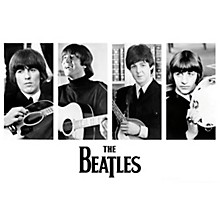 Hal Leonard The Beatles - Early Portraits - Wall Poster