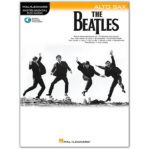 Hal Leonard The Beatles - Instrumental Play-Along Series Alto Sax Book/Audio Online
