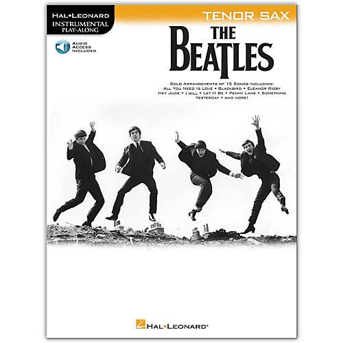 Hal Leonard The Beatles - Instrumental Play-Along Series Tenor Sax Book/Audio Online