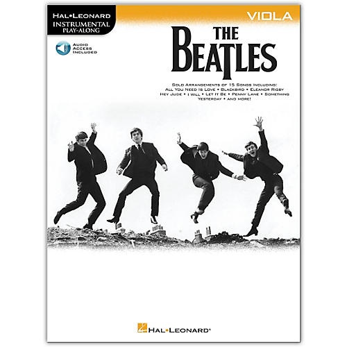 Hal Leonard The Beatles - Instrumental Play-Along Series Viola Book/Audio Online