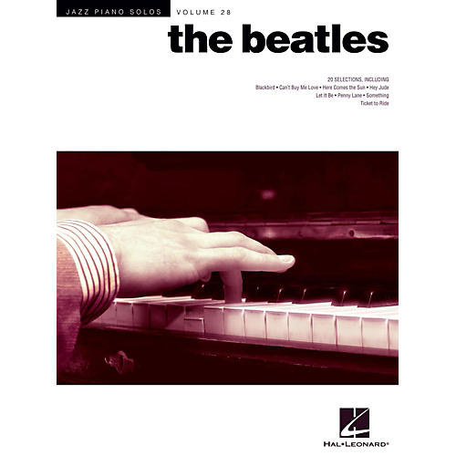 Hal Leonard The Beatles - Jazz Piano Solos Series Vol. 28