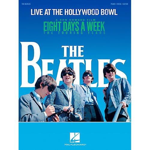 Hal Leonard The Beatles - Live at the Hollywood Bowl Piano/Vocal/Guitar Songbook