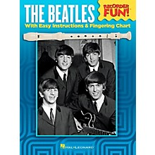 Hal Leonard The Beatles - Recorder Fun! Songbook