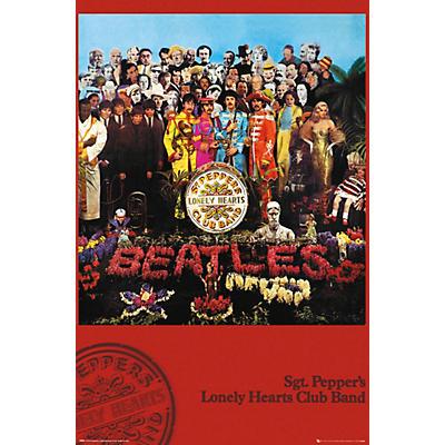 Trends International The Beatles - SGT. Pepper's Poster