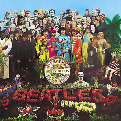 The Beatles - Sgt. Pepper's Lonely Hearts Club Band LP