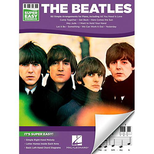 Hal Leonard The Beatles - Super Easy Songbook