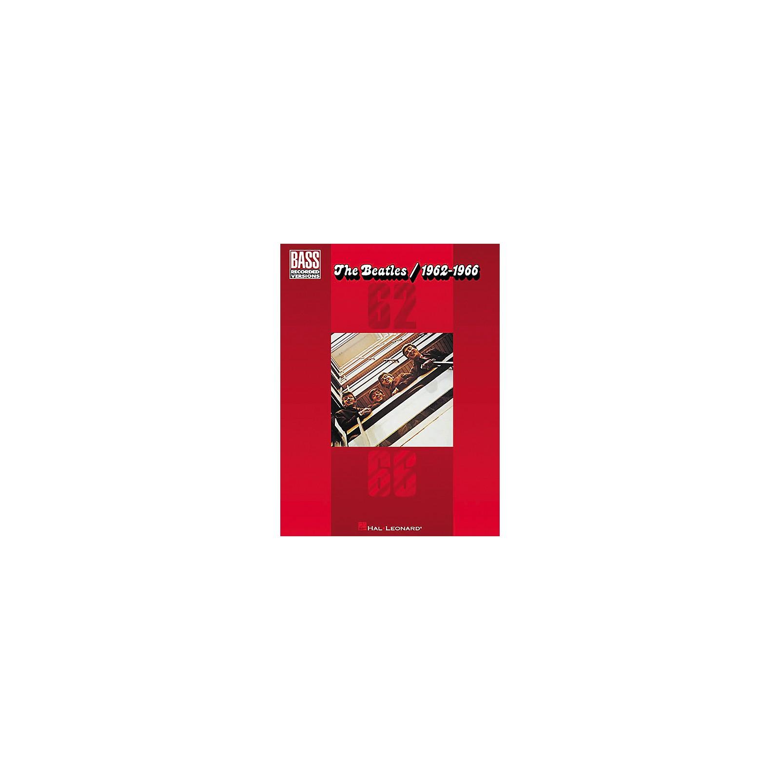 Hal Leonard The Beatles 1962-1966 Bass Tab Songbook