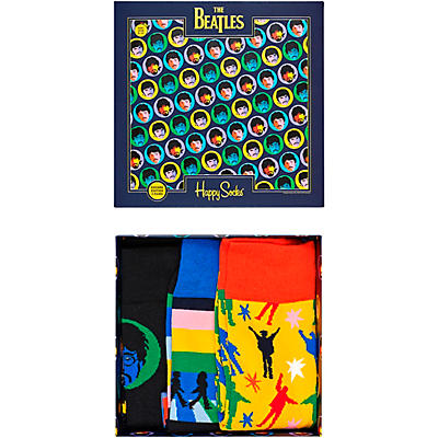 Happy Socks The Beatles 3-Pack Socks Gift Box