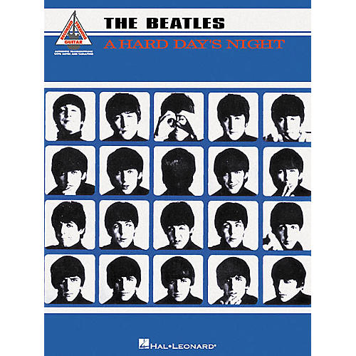 hal leonard the beatles a hard day 39 s night guitar tab book musician 39 s friend. Black Bedroom Furniture Sets. Home Design Ideas