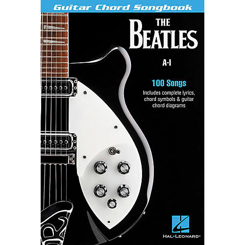 Hal Leonard The Beatles A-I Guitar Chord Songbook