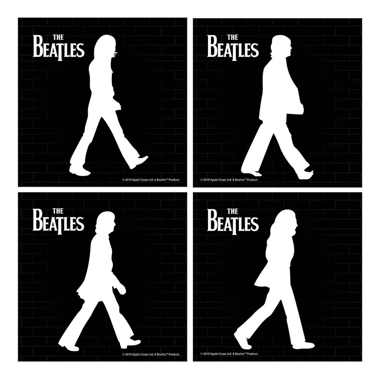 Vandor The Beatles Abbey Road Ceramic Coaster Set of 4