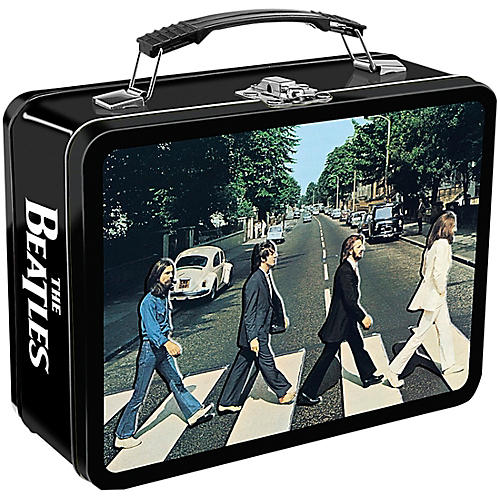 Vandor The Beatles Abbey Road Embossed Large Tin Tote