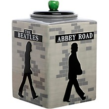 Vandor The Beatles Abbey Road Sculpted Ceramic Cookie Jar