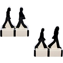 Vandor The Beatles Abbey Road Silhouettes Salt And Pepper Set