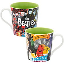 Vandor The Beatles Album Collage 12 oz. Ceramic Mug