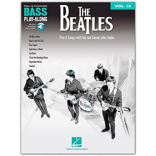 The Beatles Bass Play-Along Volume 13 Book/Online Audio