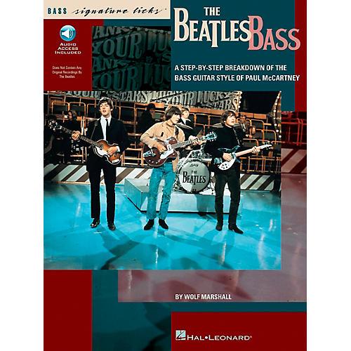 Hal Leonard The Beatles Bass Signature Licks Book with CD