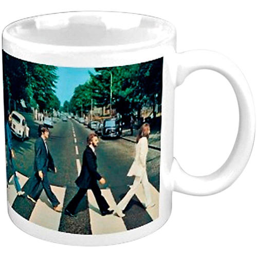 ROCK OFF The Beatles Boxed Mug: Abbey Road Crossing