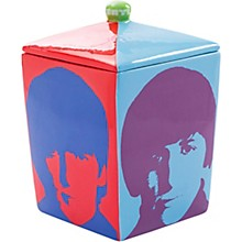 Vandor The Beatles Color Bar Ceramic Cookie Jar