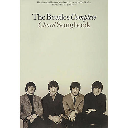 Hal Leonard The Beatles Complete Guitar Chord Songbook | Musician\'s ...