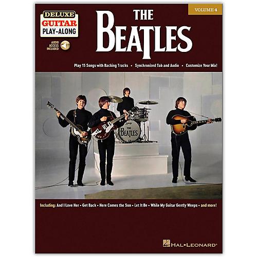 Hal Leonard The Beatles Deluxe Guitar Play-Along Volume 4 Book/Audio Online