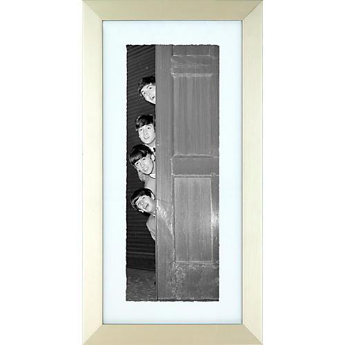 Mirrorpix The Beatles Doorway Framed Print