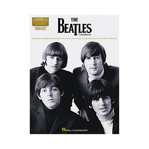 Hal Leonard The Beatles Favorites Book