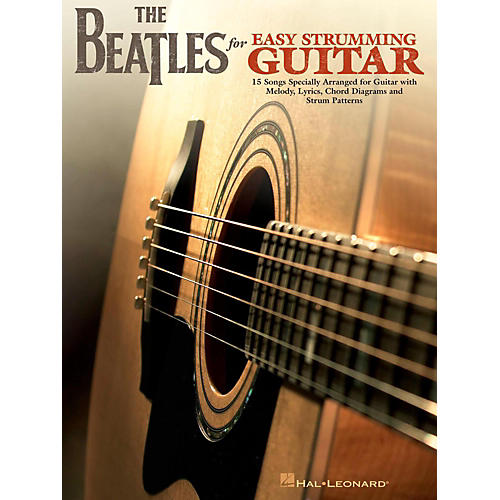 Hal Leonard The Beatles For Easy Strumming Guitar